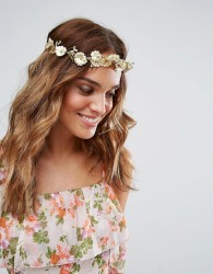 ASOS Vintage Style Autumn Hair Crown - Gold