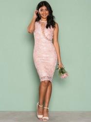 Ax Paris Dreamy Lace Dress Kropsnære kjoler Pink