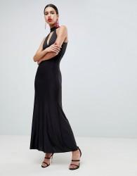 AX Paris Keyhole Maxi Dress - Black