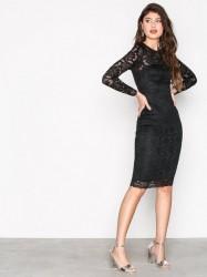Ax Paris Lace Dress Kropsnære kjoler Black