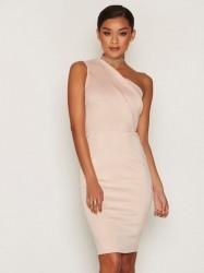Ax Paris One Shoulder Dress Kropsnære kjoler Pink