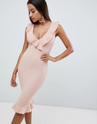 AX Paris pephem pencil dress - Pink