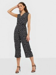 Ax Paris Printed Jumpsuit Jumpsuits