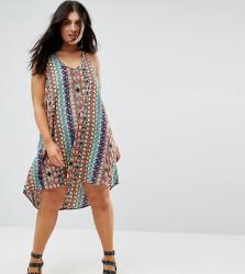 AX Paris Printed Strappy Back Dress - Multi
