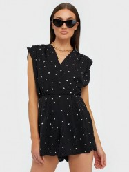 Ax Paris Spotty Playsuit Playsuits
