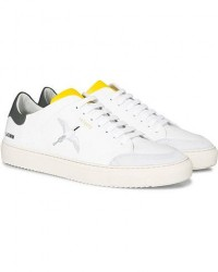 Axel Arigato Clean 90 Triple Bird Sneaker White/Yellow/Grey men 42 Hvid