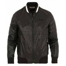 Bally Bomber Nylon Jacket Black