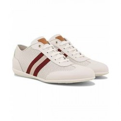 Bally Harlam Perforated Sneaker White