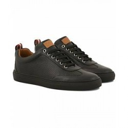 Bally Hendrik Perforated Sneaker Black Calf
