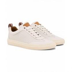 Bally Hendrik Perforated Sneaker White Calf