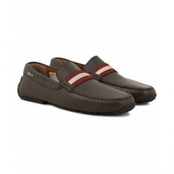 Bally Pearce Car Shoe Brown Calf