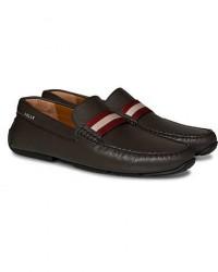 Bally Pearce Car Shoe Dark Brown Calf men UK9 - EU43 Brun