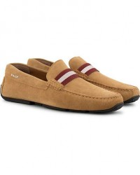 Bally Pearce Car Shoe Honey Suede men UK6 - EU40