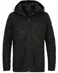 Barbour International Carbo Wax Jacket Black