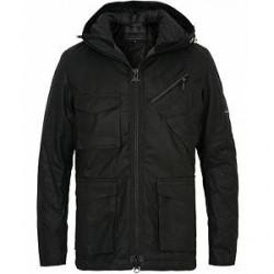 Barbour International Carbo Wax Jacket Black