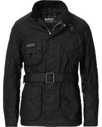 Barbour International Colouted Slim International Wax Jacket Black men XXL Sort
