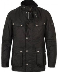 Barbour International Duke Jacket Black men XXXL Sort