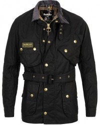 Barbour International Original Jacket Black men UK46 - EU56 Sort
