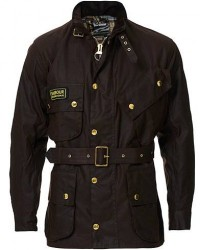 Barbour International Original Jacket Rustic men UK38 - EU48 Brun