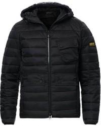 Barbour International Ouston Hooded Quilt Jacket Black men S Sort