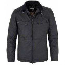Barbour International Valve Wax Jacket Black