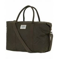 Barbour Lifestyle Archive Canvas Holdall Olive