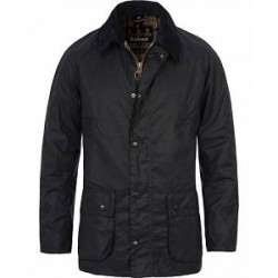 Barbour Lifestyle Ashby Wax Jacket Navy
