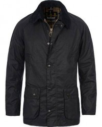 Barbour Lifestyle Ashby Wax Jacket Navy men S Blå