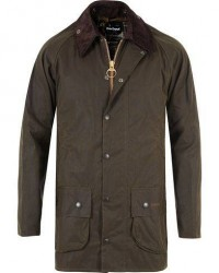 Barbour Lifestyle Classic Beaufort Jacket Olive men UK48 - EU58 Grøn