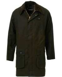 Barbour Lifestyle Classic Northumbria Jacket Olive men UK38 - EU48 Grøn