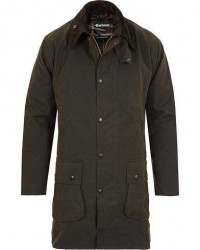 Barbour Lifestyle Classic Northumbria Jacket Olive men UK42 - EU52 Grøn