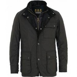 Barbour Lifestyle Connel Waxed Jacket Navy