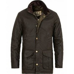Barbour Lifestyle Hereford Wax Jacket Olive