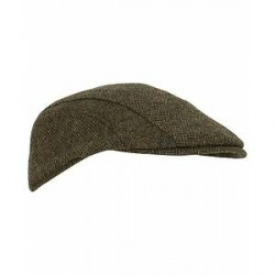 Barbour Lifestyle Herringbone Tweed Cap Olive