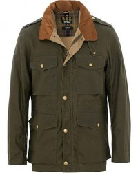 Barbour Lifestyle Lightweight Orel Wax Jacket Archive Olive men M