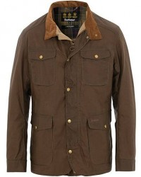 Barbour Lifestyle Lightweight Waxed Ogston Jacket Dark Sand men S