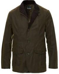 Barbour Lifestyle Lutz Wax Jacket Olive men L Grøn