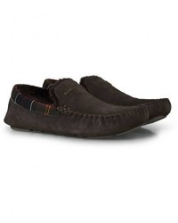Barbour Lifestyle Monty Indoor Car Shoe Brown Suede men UK6 - EU40 Brun