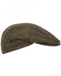 Barbour Lifestyle Moons Tweed Cap Olive Herringbone men CM 59-UK 7 1/4 Grøn