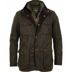 Barbour Lifestyle Ogston Waxed Jacket Olive