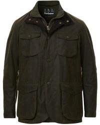 Barbour Lifestyle Ogston Waxed Jacket Olive men M Grøn