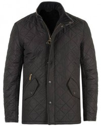 Barbour Lifestyle Powell Quilted Jacket Black men S Sort