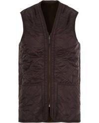 Barbour Lifestyle Quilt Waistcoat/Zip-In Liner Brown men XXL/UK48-50 Brun