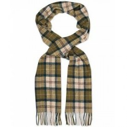 Barbour Lifestyle Tartan Lambswool Scarf Ancient