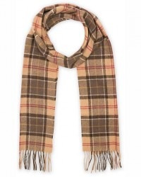 Barbour Lifestyle Tartan Lambswool Scarf Muted men One size Brun