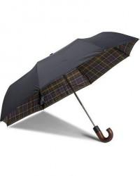 Barbour Lifestyle Telescopic Umbrella Barbour Lifestyle Classic Tartan men One size Grøn