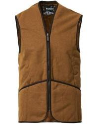Barbour Lifestyle Warm Pile Waistcoat Zip-In Liner Brown men UK44/XL Brun