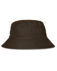 Barbour Lifestyle Wax Sports Hat Olive men L Grøn
