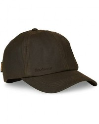 Barbour Lifestyle Wax Sports Hat Olive men One size Grøn