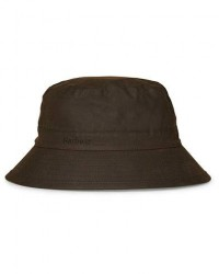 Barbour Lifestyle Wax Sports Hat Olive men XXL Grøn